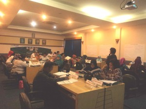 UPT. Bahasa Gelar Propell Teacher Workshop for TOEIC Test