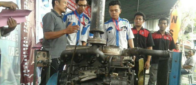 Marine Diesel Assembly Competition 2016