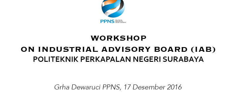 Workshop on Industrial Advisory Board (IAB) 2016